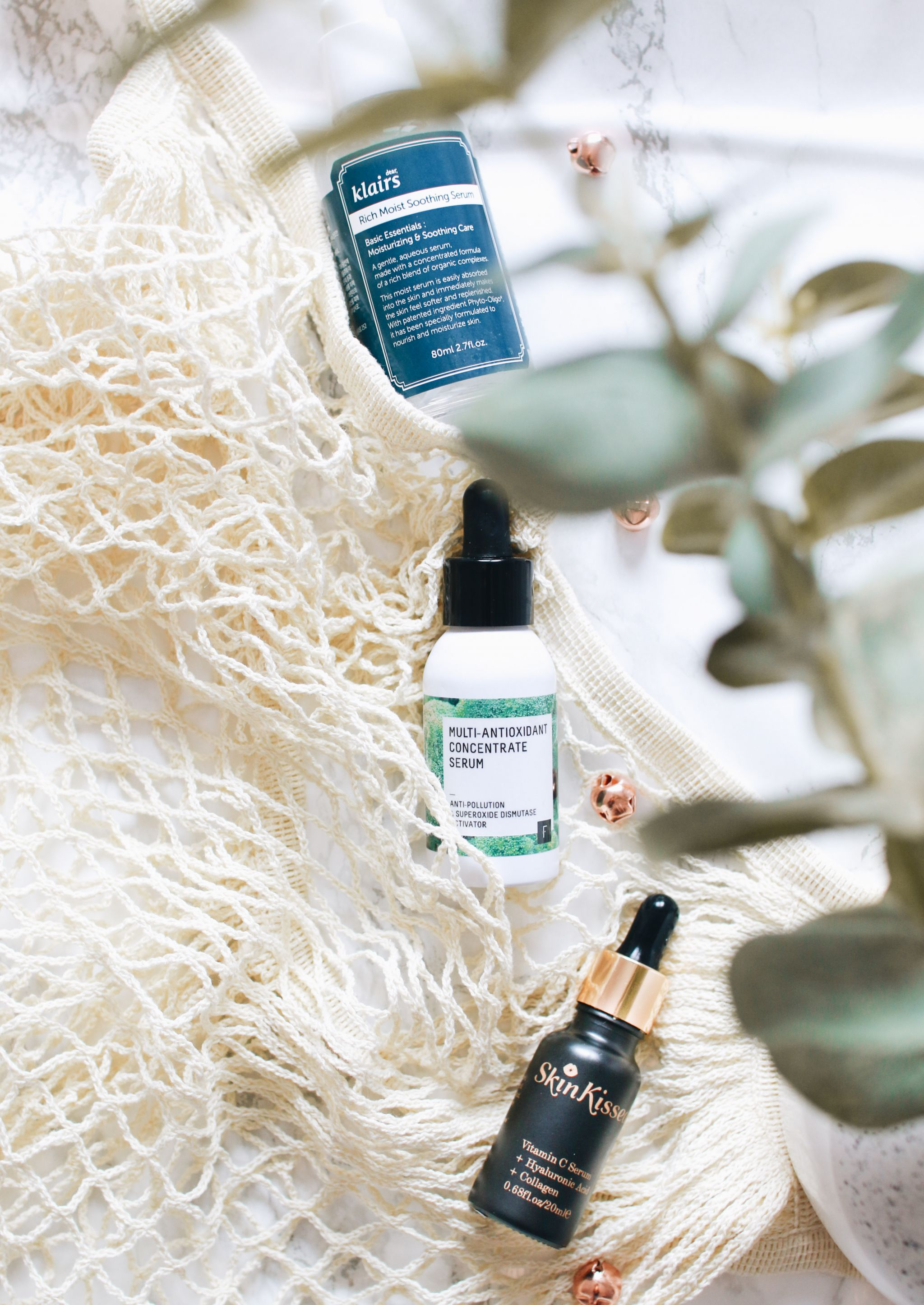 serums and oils perfect for summer, forever september, skincare, beauty, fashion, makeup, lifestyle, flatlay, beauty blogger